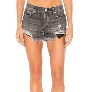 Revolve FP Loving Good Vibrations Cut Off Shorts